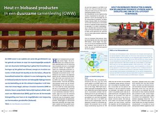 Artikel OTAR: Hout en biobased producten in een duurzame samenleving (GWW)
