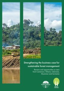 Report Strenghtening Business Case Sustainable Forest Management