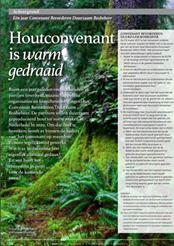 Artikel Houtwereld: Het Convenant is warmgedraaid
