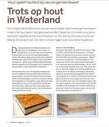 Trots op hout in Waterland
