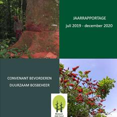 Jaarverslag Convenant Bevorderen Duurzaam Bosbeheer 2019-2020